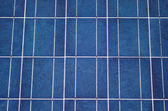 крупный план панели солнечных батарей — Стоковое фото