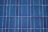 Primo piano di un pannello solare — Foto Stock