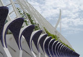 Arts and Science Center in Valencia, Spain — 图库照片