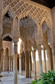 Внутри Альгамбра в Гранаде, Испания — Стоковое фото