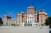 Racconigi castle near Turin, Italy. Facade — Stock Photo