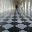 Galleria di Diana inside palace in Venaria Reale — Stock Photo