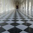 Galleria di Diana inside palace in Venaria Reale — Stock Photo