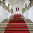 Elegant staircase in luxurious building — Stock Photo
