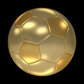 Golden FootBall — Stock Photo