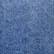 Old Denim Cloth Close-Up — Stock Photo