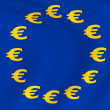 Flag of Euro-Currency — Stock Photo