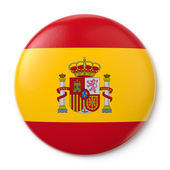 Spain Pin-back — Stock Photo