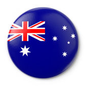 Australia Pin-back — Stock Photo