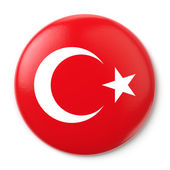 Turkey Pin-back — Stock Photo