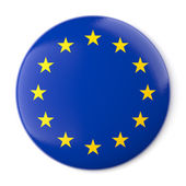 Europe Pin-back — Stock Photo