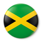 Jamaica Pin-back — Stock Photo