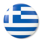 Greece States Pin-back — Stock Photo