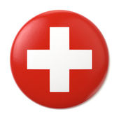 Switzerland Pin-back — Stock Photo