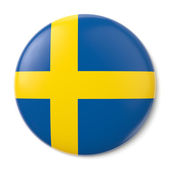 Sweden States Pin-back — Stock Photo