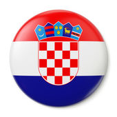 Croatia Pin-back — Stock Photo