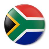 South Africa Pin-back — Stock Photo