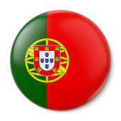 Portugal Pin-back — Stock Photo