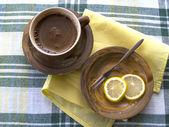 Kawy i cytryny — Zdjęcie stockowe