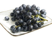 The still life with grapes — Stock Photo