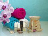 The set of aromatherapy — Stock Photo