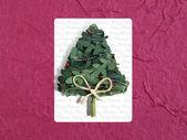 The Christmas postcard — Stock Photo