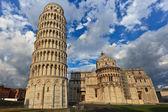 Scheve toren in pisa — Stockfoto