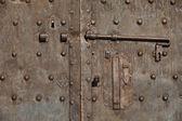 Medieval door — Fotografia Stock