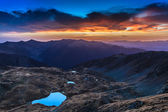 Fagaras Mountains — Foto Stock