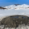 Mud Volcanoes in Buzau, Romania — Stockfoto