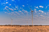 Wind power turbines — Stock Photo