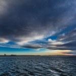 Sunrise in Danube Delta, Romania — Stock Photo #21140877