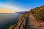Path to Porto Azzuro — Stock Photo