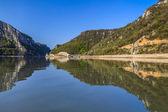 Danube river — Stock Photo