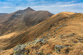 The Moldoveanu Peak in Fagaras Mountains — Stock Photo