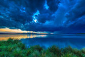 Dark storm clouds — Stock Photo