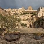Sassi of Matera. Basilicata. — Stock Photo