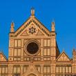 Church of basilica Santa Croce in Florence, Italy. — Stock Photo #28754211