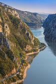 De Donau kloven — Stockfoto
