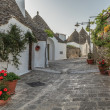 Alberobello's Trulli. Puglia. Italy. — Stock Photo #30606051