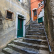 Street in Vernazza village — Stock Photo