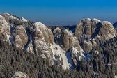 Paisaje de montaña en invierno — Foto de Stock