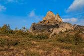Zonsopgang op de berg — Stockfoto