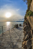 Via dell amor of Cinque Terre — Stock Photo