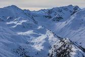 Montanha do inverno — Foto Stock