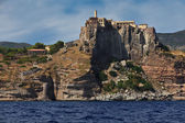 Capraia island castle and fortification — Stock Photo