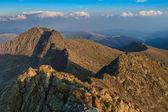 The Negoiu Peak. Fagaras Mountains, Romania — Stock Photo