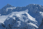 Negoiu peak in winter — Stock Photo