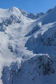 The Fagaras Mountains in winter — Stock Photo