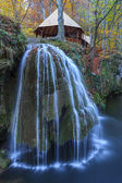Bigar Cascade Falls in Nera Beusnita Gorges National Park, Romania — Stock Photo